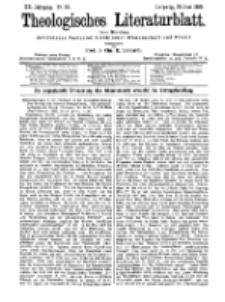 Theologisches Literaturblatt, 30. Juni 1899, Nr 26.