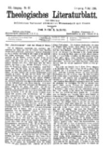 Theologisches Literaturblatt, 7. Juli 1899, Nr 27.