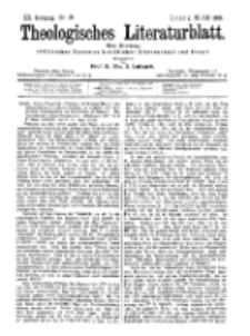 Theologisches Literaturblatt, 28. Juli 1899, Nr 30.