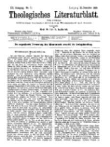 Theologisches Literaturblatt, 22. Dezember 1899, Nr 51.