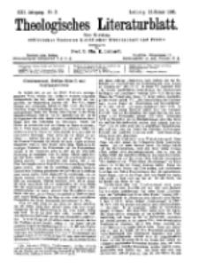 Theologisches Literaturblatt, 12. Januar 1900, Nr 2.
