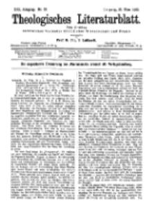 Theologisches Literaturblatt, 23. März 1900, Nr 12.