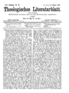 Theologisches Literaturblatt, 10. August 1900, Nr 32.