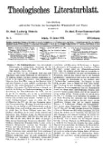 Theologisches Literaturblatt, 15. Januar 1932, Nr 2.