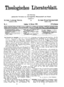 Theologisches Literaturblatt, 12. Februar 1932, Nr 4.