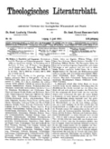 Theologisches Literaturblatt, 3. Juni 1932, Nr 12.