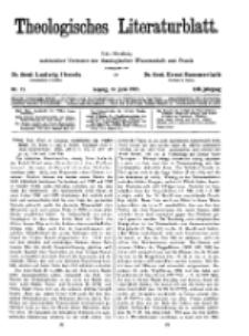 Theologisches Literaturblatt, 17. Juni 1932, Nr 13.