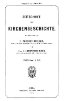 Zeitschrift für Kirchengeschichte, 1902, Bd. 23, H. 1.