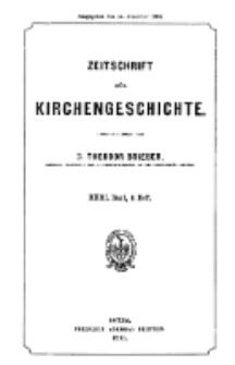 Zeitschrift für Kirchengeschichte, 1902, Bd. 23, H. 4.