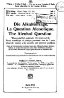 Die Alkoholfrage, 1917, Jg. XIII, H. 3