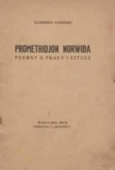 Promethidjon Norwida : poemat o pracy i sztuce