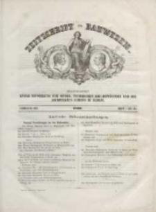Zeitschrift für Bauwesen, Jg. XVI, 1866, H. 1-3