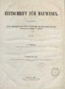 Inhalt des XVI Jahrgangs