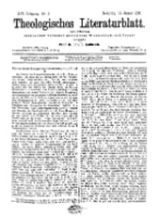 Theologisches Literaturblatt, 11. Januar 1895, Nr 2.