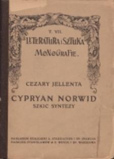 Cypryan Norwid : szkic syntezy
