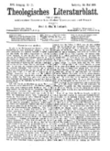 Theologisches Literaturblatt, 24. Mai 1895, Nr 21.