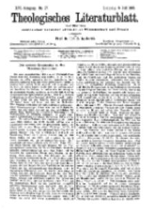 Theologisches Literaturblatt, 5. Juli 1895, Nr 27.