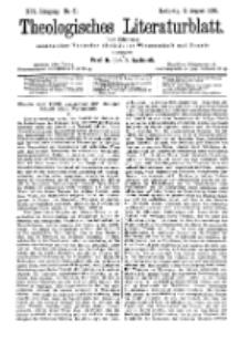Theologisches Literaturblatt, 2. August 1895, Nr 31.