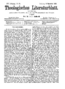 Theologisches Literaturblatt, 6. September 1895, Nr 36.