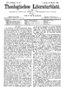 Theologisches Literaturblatt, 20. Oktober 1895, Nr 43.