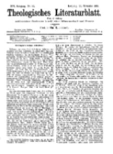 Theologisches Literaturblatt, 15. November 1895, Nr 46.