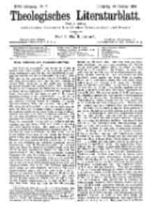 Theologisches Literaturblatt, 14. Februar 1896, Nr 7.
