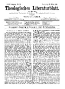 Theologisches Literaturblatt, 27. März 1896, Nr 13.