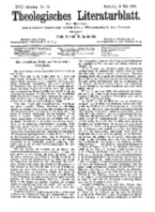 Theologisches Literaturblatt, 8. Mai 1896, Nr 19.
