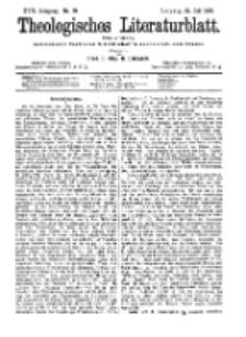 Theologisches Literaturblatt, 24. Juli 1896, Nr 30.