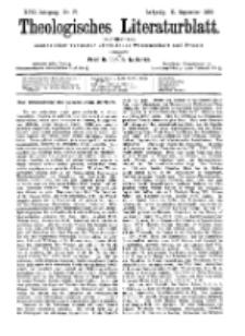 Theologisches Literaturblatt, 11. September 1896, Nr 37.