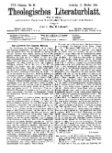 Theologisches Literaturblatt, 16. Oktober 1896, Nr 42.