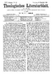 Theologisches Literaturblatt, 6. November 1896, Nr 45.