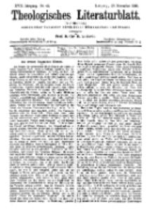 Theologisches Literaturblatt, 27. November 1896, Nr 48.