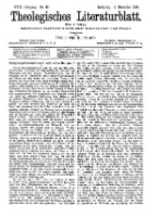 Theologisches Literaturblatt, 4. Dezember 1896, Nr 49.