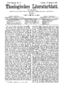 Theologisches Literaturblatt, 18. Dezember 1896, Nr 51.