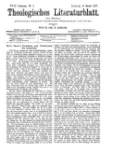 Theologisches Literaturblatt, 8. Januar 1897, Nr 1.