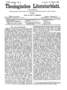 Theologisches Literaturblatt, 12. Februar 1897, Nr 6.