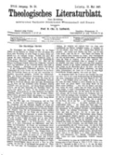 Theologisches Literaturblatt, 21. Mai 1897, Nr 20.