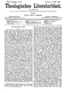 Theologisches Literaturblatt, 28. Mai 1897, Nr 21.