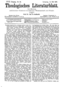 Theologisches Literaturblatt, 11. Juni 1897, Nr 23.