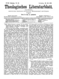 Theologisches Literaturblatt, 23. Juli 1897, Nr 29.