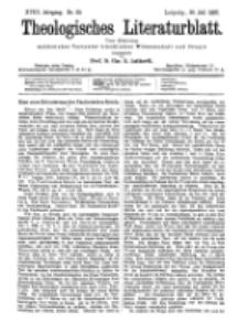Theologisches Literaturblatt, 30. Juli 1897, Nr 30.