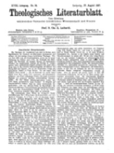 Theologisches Literaturblatt, 27. August 1897, Nr 34.