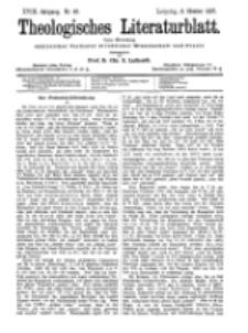 Theologisches Literaturblatt, 8. Oktober 1897, Nr 40.