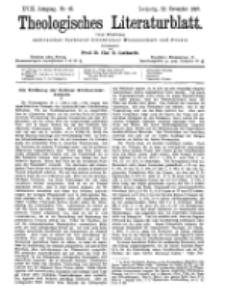 Theologisches Literaturblatt, 12. November 1897, Nr 45.