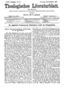 Theologisches Literaturblatt, 24. Dezember 1897, Nr 51.