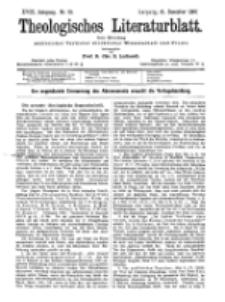 Theologisches Literaturblatt, 31. Dezember 1897, Nr 52.