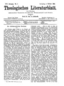 Theologisches Literaturblatt, 4. Februar 1898, Nr 5.