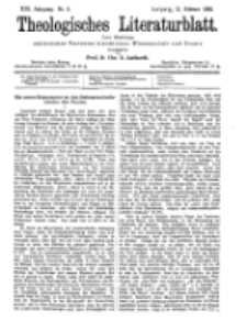 Theologisches Literaturblatt, 11. Februar 1898, Nr 6.