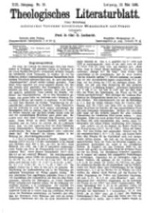 Theologisches Literaturblatt, 13. Mai 1898, Nr 19.